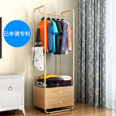 置衣架卧室实木双十二