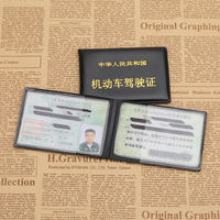 Driving license leather case for men and women motor vehicle driving license set driver's license driving license driver's license driving school bus management