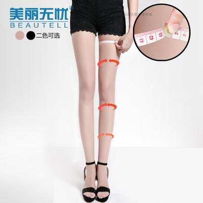 瘦腿袜超薄款瘦身袜女丝袜子肉色肤连裤防勾丝美腿塑形超紧身强压