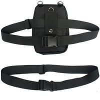 Multi-purpose multi-functional belt bag mobile phone bag purse bag simple versatile nylon belt combination belt