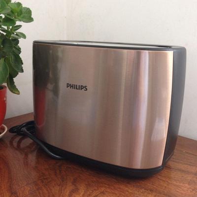 Philips/飞利浦 HD2658烤面包机家用全自动2片双卡槽全自动多士炉使用感受