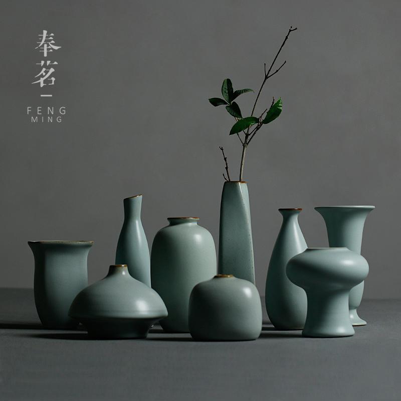 陶艺花瓶 手工