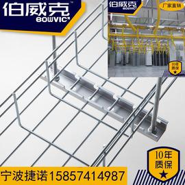 网格桥架 不锈钢卡博菲式开放式桥架弱点电缆走线架 铝合金走线架图片