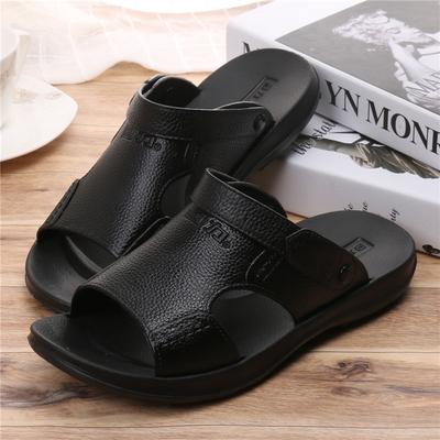 回力凉鞋男夏新款平底商务凉拖防滑防水舒适塑胶两用室外男鞋包邮