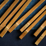 Bamboo Chopsticks Household Natural Japanese Chopsticks Nanbamboo Chopsticks Bamboo Chopsticks Japanese-pointed Natural Painless Wax-free Bamboo Chopsticks