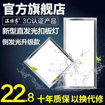 集成吊顶铝扣板厨房卫生间客厅吊顶扣板模块材料纳米抗油天花板