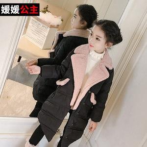 媛媛公主女童冬装羽绒服加厚儿童女孩羽绒衣外套