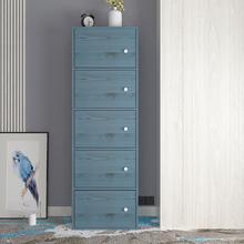 北欧简约时尚书柜简易带门储物柜收纳柜自由组合柜置物柜小柜子