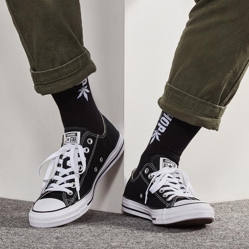 匡威帆布鞋女鞋男鞋All Star春季经典款休闲鞋低帮轻便板鞋101001