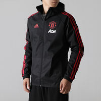 Adidas jacket men 2019 spring new men's sportswear Manchester United football training jacket CW7636
