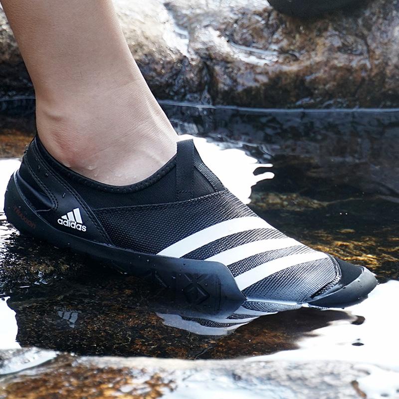 Adidas阿迪达斯男鞋女鞋2018夏季透气户外沙滩溯溪鞋涉水鞋M29553