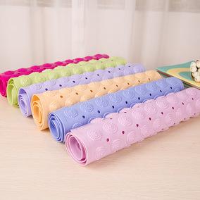 甘香屋浴室防滑垫淋浴洗澡卫生间厕所卫浴按摩pvc脚垫子家用地垫