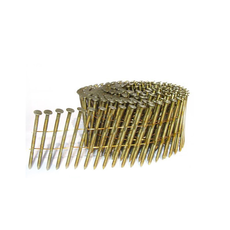气动卷钉枪专用卷钉螺纹卷钉光杆钉子木盘钉托盘钉木箱钉包装箱钉