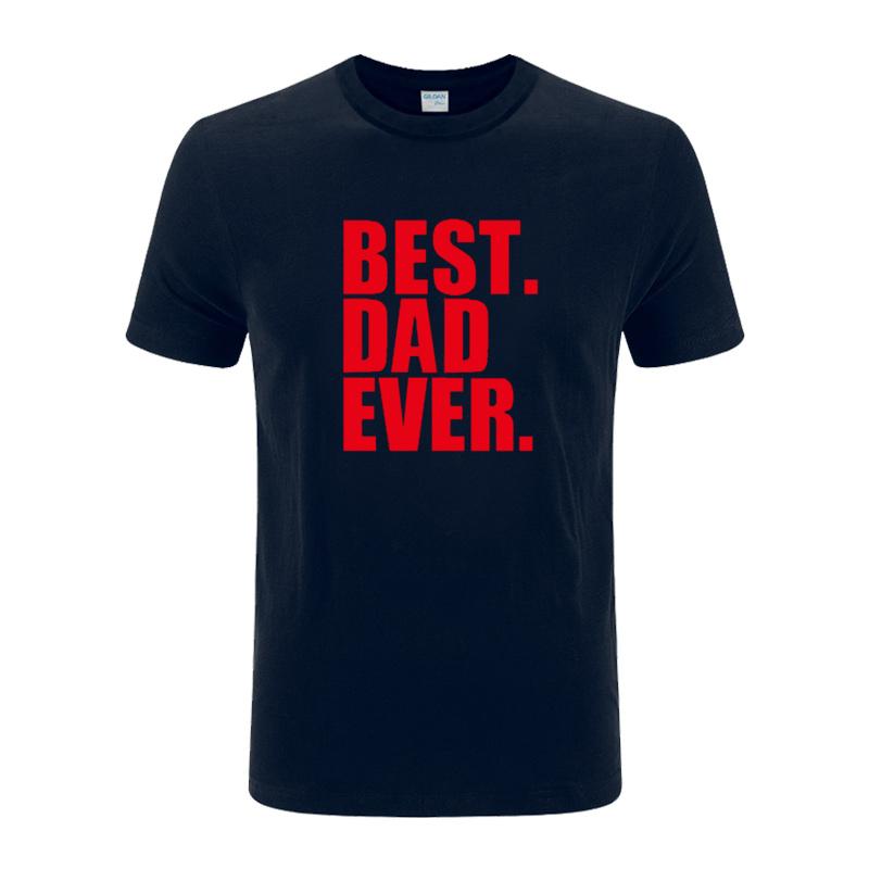 永远好爸爸英文字母纯棉T恤短袖