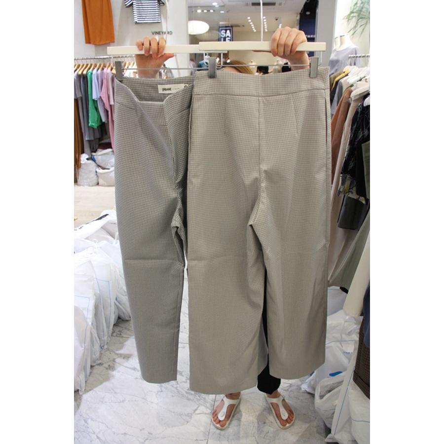 韩国东大门代购打折 URBANE cloth 女士简洁束腰休闲裤左/右色