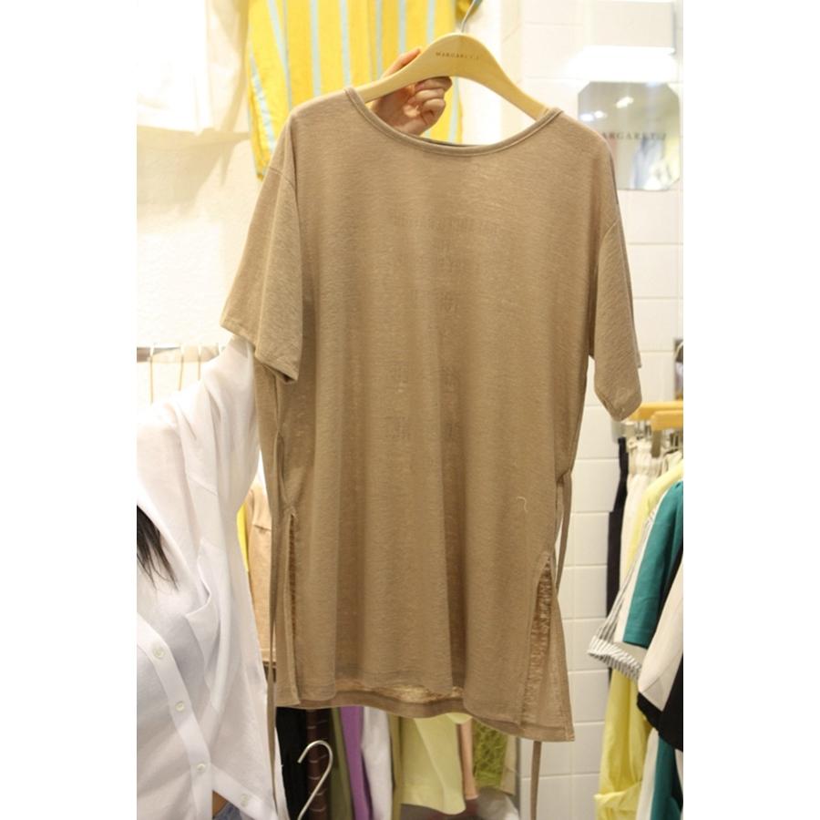 进口韩国东大门正品代购女装2018夏装女士简洁短袖时尚T恤衫均码