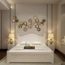 新全友家私家具旗舰店实木床双人床欧式松木床1.5单人床白色儿童