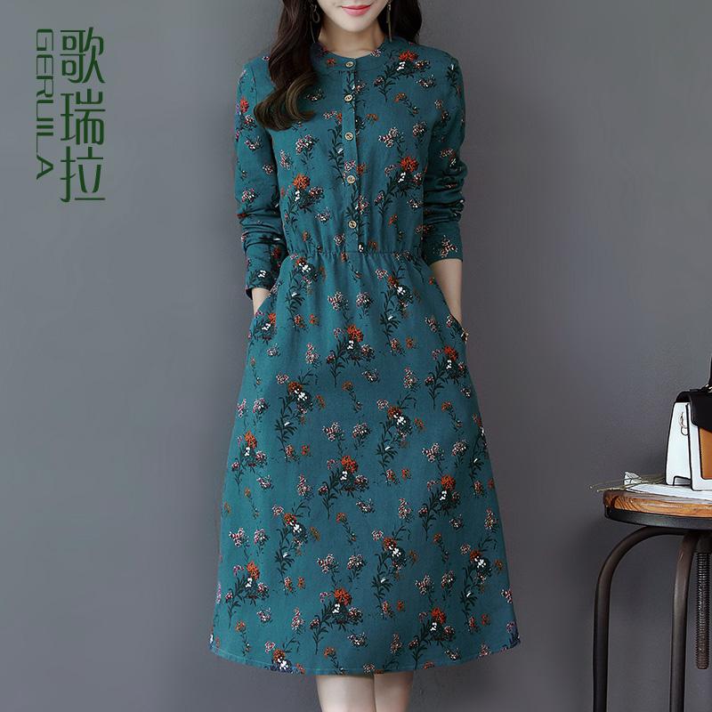 纯棉女连衣裙