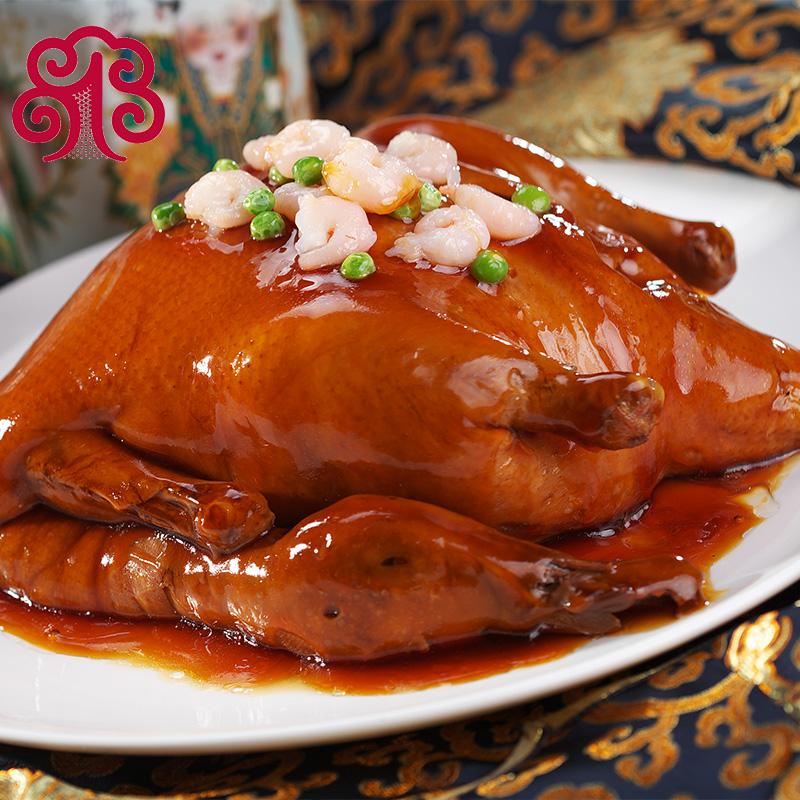 一食当家糯米麻鸭八宝鸭礼盒装私房菜上海特产卤味中秋节日送礼