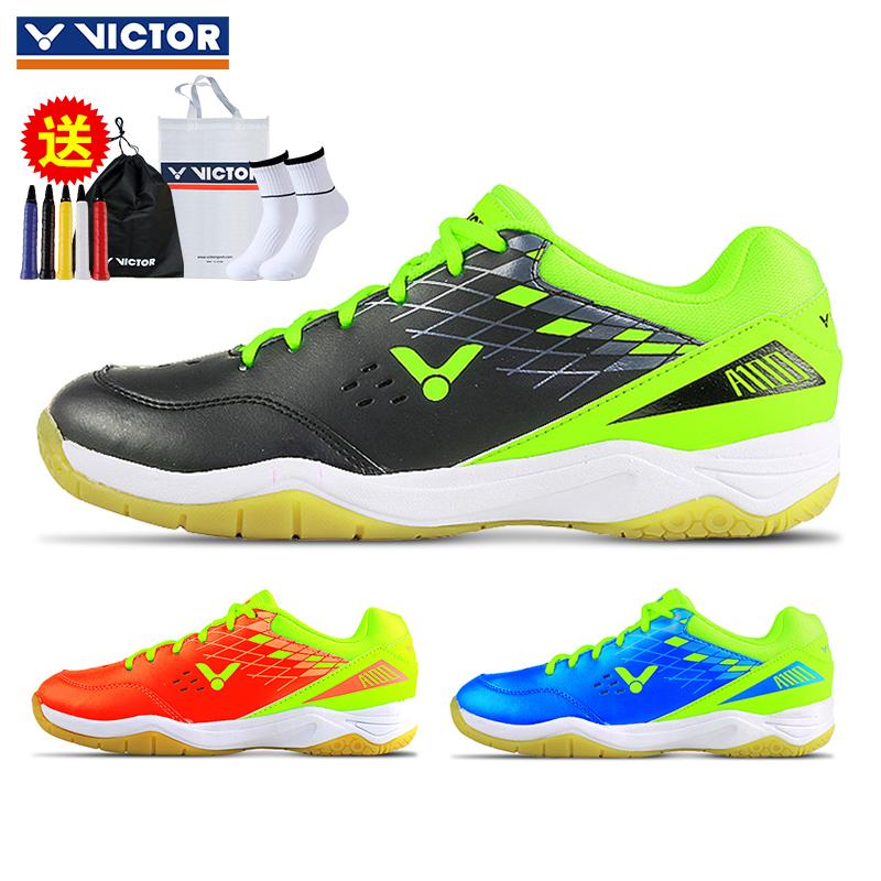 新款正品胜利VICTOR羽毛球鞋A100 男女鞋训练鞋维克多防滑运动鞋