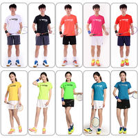 Quick-drying VICTOR victory badminton wear men and women models 80028 Victor summer short-sleeved t-shirt breathable tops