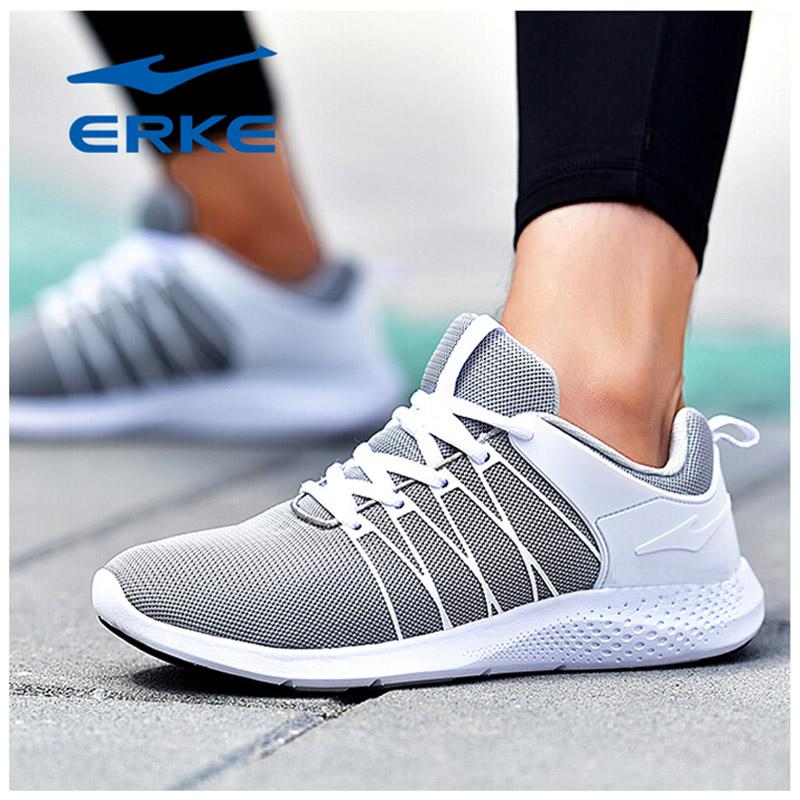 鸿星尔克男鞋透气运动鞋2018年春夏季网面防滑气垫学生跑步鞋