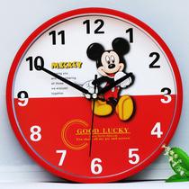 挂钟客厅创意钟表简约卡通时钟可爱卧室个姓石英钟挂表静音