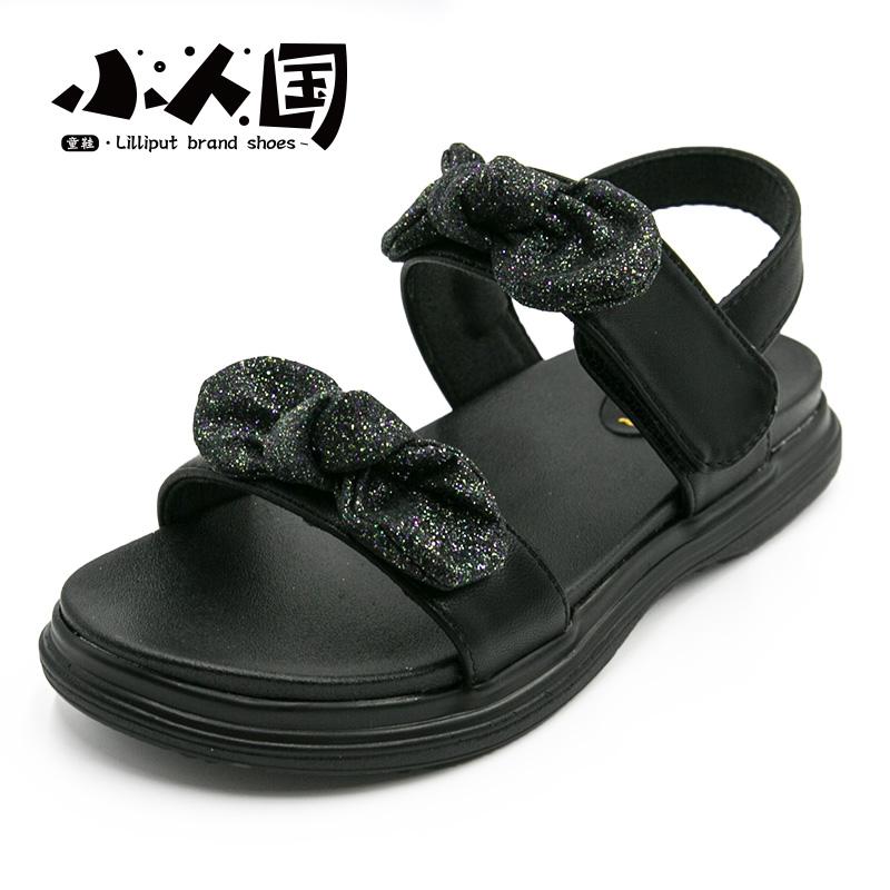 韩国蝴蝶结公主鞋