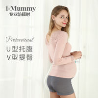 Imummy radiation suit maternity dress wear work summer autumn and winter pregnancy period apron radiation underwear clothing