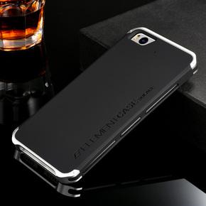 小米5手机壳防摔金属边框5s plus保护套铝合金小米5s手机壳硅胶男