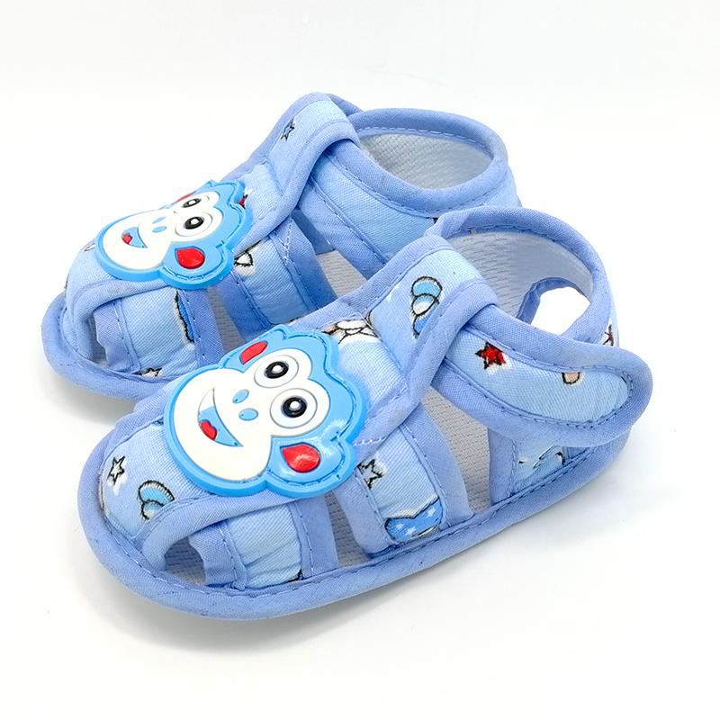 小孩学步叫叫儿童布清仓5-15元鞋子男0一1婴儿软底一岁宝宝凉鞋女
