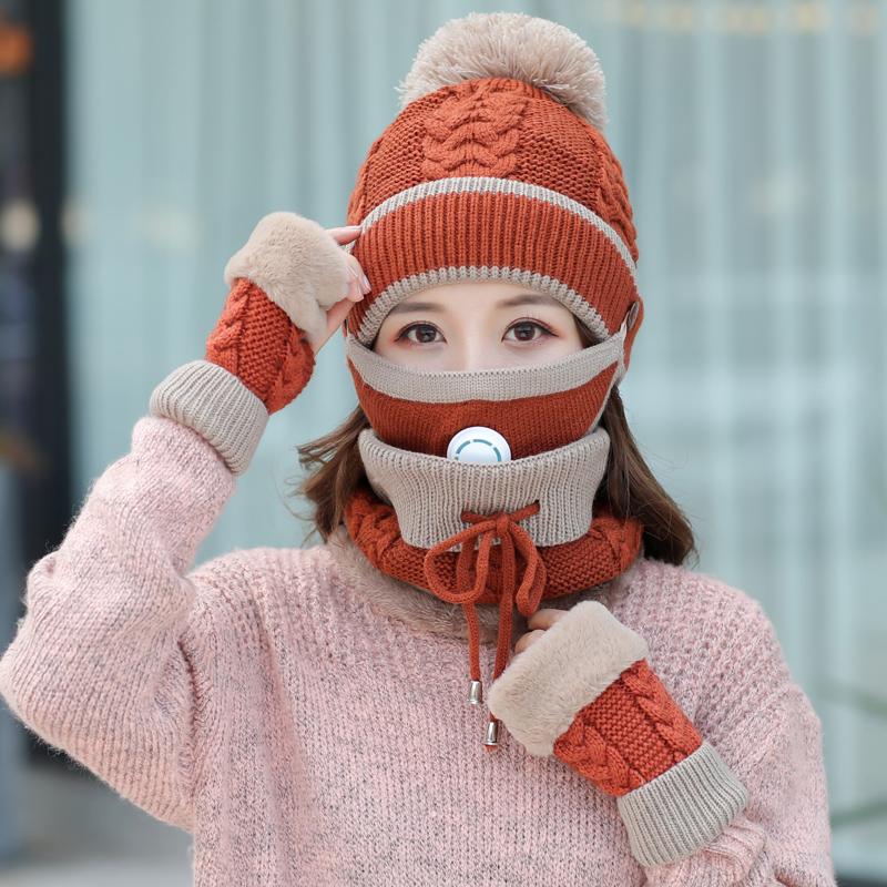 冬季加厚女帽子