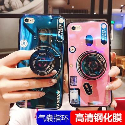 苹果6plus手机壳6spls气囊支架iPone6plus硅胶1699软壳PG6P外套iPhone6plus创意相机a1524品果6splu