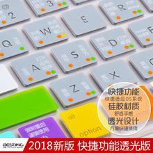 macbook蘋果電腦pro13寸13.3快捷air筆記本mac鍵盤12膜11保護15貼