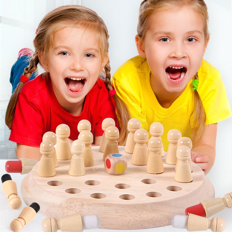 桌游儿童益智棋类玩具亲子互动游戏3-4-6-8岁记忆力专注力训练男