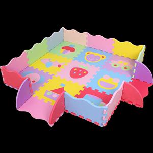 金浪涛儿童泡沫拼图地垫加厚宝宝爬行垫卧室拼接卡通婴儿爬爬垫