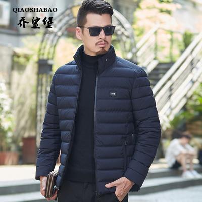 2018年新款中年男士棉衣中老年40-50岁立领加厚棉袄爸爸冬装外套