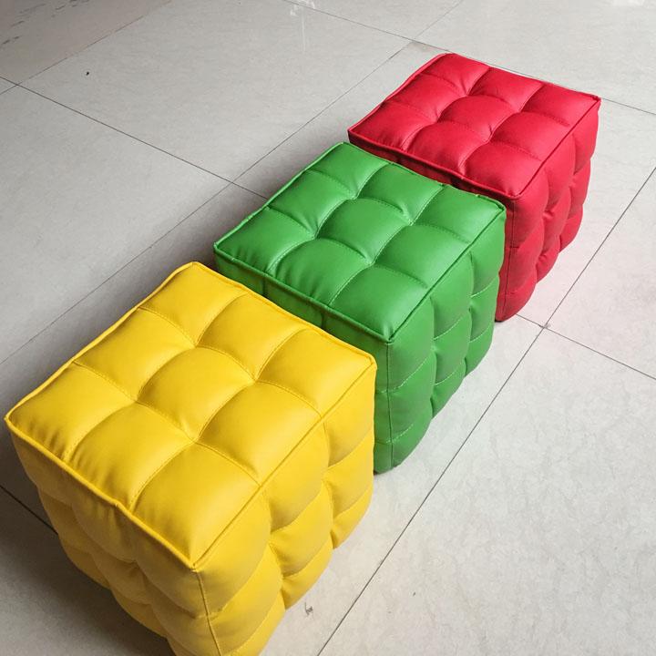 格子儿童沙发