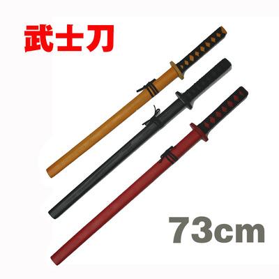 日本武士玩具刀儿童木刀剑男孩木制东洋武士刃玩具cos舞台道具刀