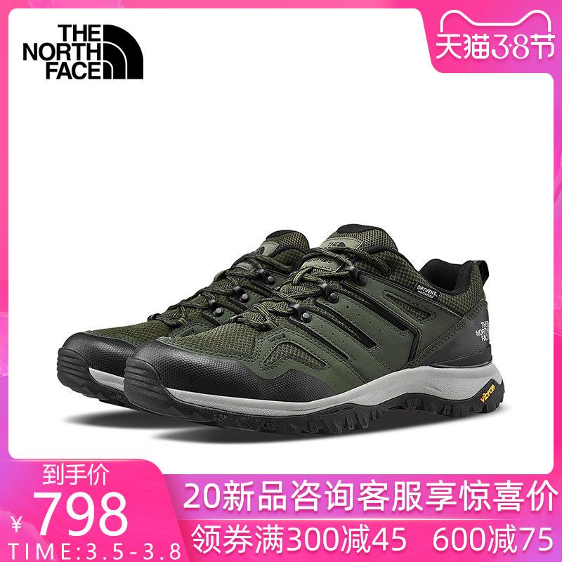 2020春夏新品TheNorthFace北面男鞋徒步鞋户外防水抓地休闲鞋46AM