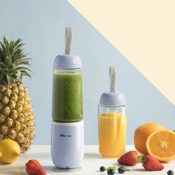 小熊便携式榨汁机家用迷你水果小型炸果汁料理机电动多功能榨汁杯