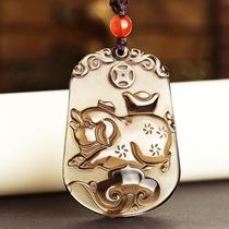 挂件吊坠项坠男士女款项链护身符经文佛教开光平安本命年楞严咒