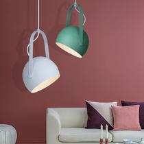 铁艺玻璃复古吊灯客厅卧室书房餐厅灯饰灯具欧式美式