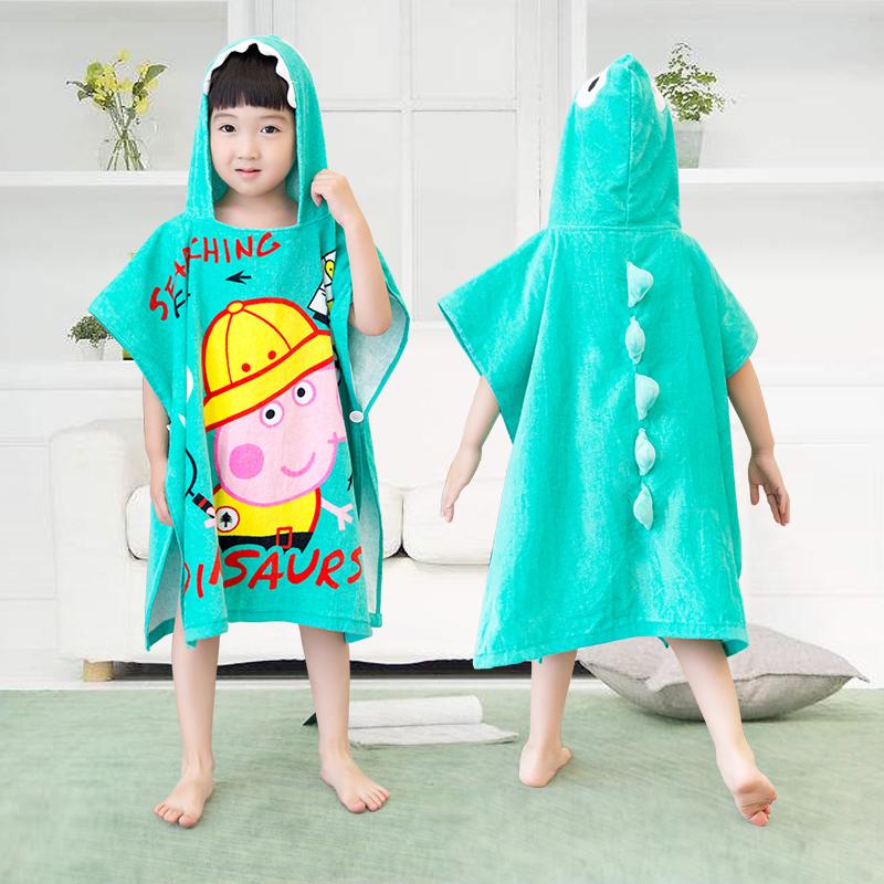 儿童毛巾料浴衣