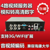 4 way video server monitoring video encoder hd video encoder simulation to network haikang dahua