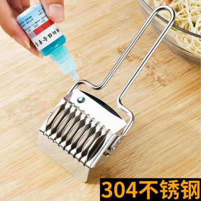 省力手动切面器家用面条机304不锈钢切面刀面条模具切面条神器