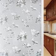 3d立体静电免胶窗户玻璃贴纸卫生间透光不透明窗花贴磨砂玻璃贴膜