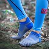 Jingyao Jinyao Coolmax 2.0 Marathon Cross-country Running Sports Five-fingered Socks