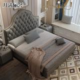 真皮床现代简约主卧双人床1.8米北欧大气卧室欧式小户型软包婚床