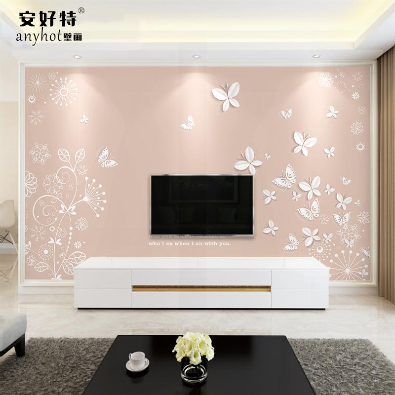 蝶恋花墙纸